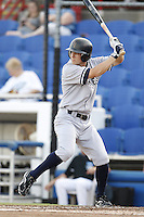 July 11, 2009:  Center fielder Damon Sublett of the Tampa Yankees during a game at Dunedin Stadium in Dunedin, FL.  Tampa is the Florida State League High-A affiliate of the New York Yankees.  Photo By Mike Janes/Four Seam Images