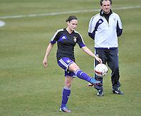 RSC Anderlecht Dames - ADO Den Haag : Meagan McLoughlin.foto DAVID CATRY / Nikonpro.be