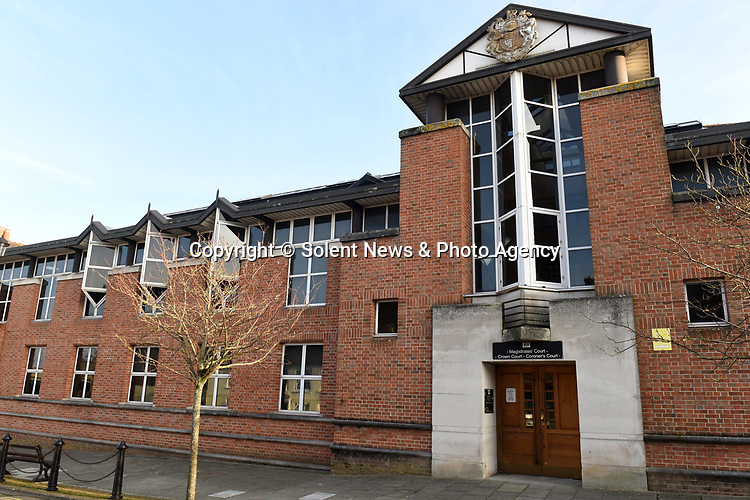 Pictured:  Isle of Wight Combined Court where Magistrates, Crown and Coronor's hearings are all heard.<br /> <br /> A 20-year-old woman has become the first in Britain to be convicted of drink driving on an e-scooter.   Kyah Jordan was almost three times over the limit when she went through a red light and almost crashed into an unmarked police car.<br /> <br /> In court, her lawyer tried to argue that she was travelling so slowly on the electrically powered contraption she couldn't have posed a danger to anyone.   But magistrates banned her from the road for two years, stating 'it's a motor vehicle, the same as a moped, the same as a bus'.   SEE OUR COPY FOR DETAILS.<br /> <br /> <br /> © Simon Czapp/Solent News & Photo Agency<br /> UK +44 (0) 2380 458800