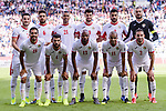 Jordan squad poses for photos during the AFC Asian Cup UAE 2019 Round of 16 match between Jordan (JOR) and Vietnam (VIE) at Al Maktoum Stadium on 20 January 2019 in Dubai, United Arab Emirates. Photo by Marcio Rodrigo Machado / Power Sport Images