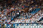 25.07.2019 Rangers v Progres Niederkorn: Rangers directors box