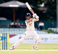 Sam Billings hits out for Kent during Kent CCC vs Worcestershire CCC, LV Insurance County Championship Division 3 Cricket at The Spitfire Ground on 6th September 2021