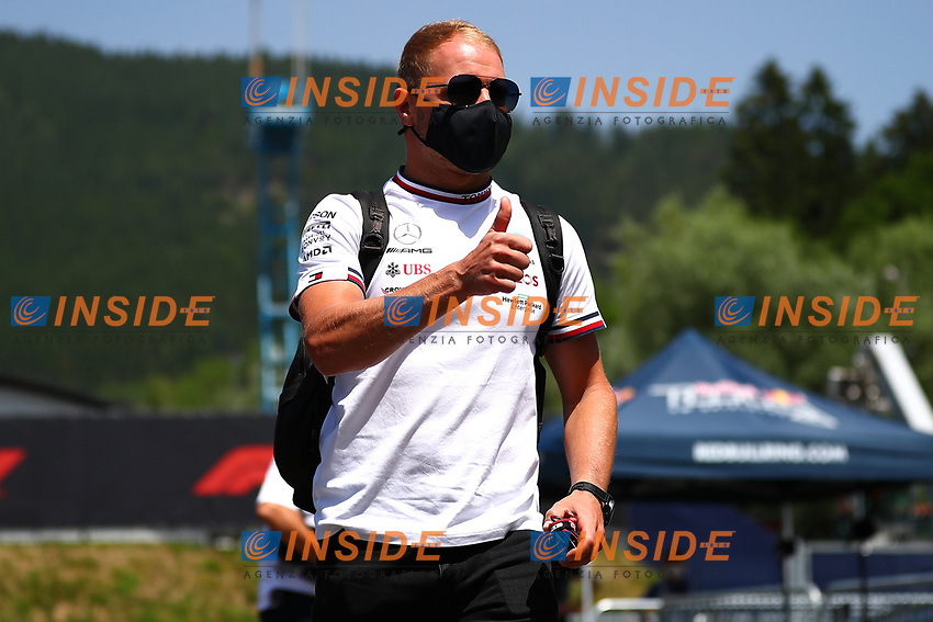 #77 Valteri Bottas; Mercedes AMG Team F1. Formula 1 World championship 2021, Styrian GP 2021, 24 June 2021