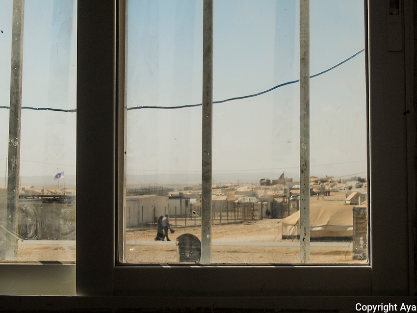 I used to live a very beautiful life in Syria, but when I moved to the camp, all beautiful things disappeared.