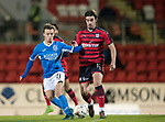 Dave Mackay Testimonial: St Johnstone v Dundee…06.10.17…  McDiarmid Park… <br />Stefan Scougall and Jon Autenetxe<br />Picture by Graeme Hart. <br />Copyright Perthshire Picture Agency<br />Tel: 01738 623350  Mobile: 07990 594431