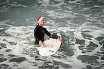 141222 Surfing Santas