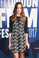 Chloe Pirrie<br /> arriving for the 2017 London Film Festival Awards at Banqueting House, London<br /> <br /> <br /> ©Ash Knotek  D3336  14/10/2017