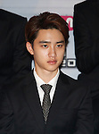 D.O.(EXO), Aug 11, 2014 : D.O. of South Korean-Chinese K-Pop idol boy band EXO, attends a presentation for their new show on Mnet, 'EXO 90:2014', at CJ E&M Center in Seoul, South Korea.  (Photo by Lee Jae-Won/AFLO) (SOUTH KOREA)