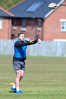 Tuesday 3rd May; Rob Herring<br /> Ulster Rugby Training at Perrie Park, Belfast, Northern Ireland. Photo by John Dickson/Dicksondigital
