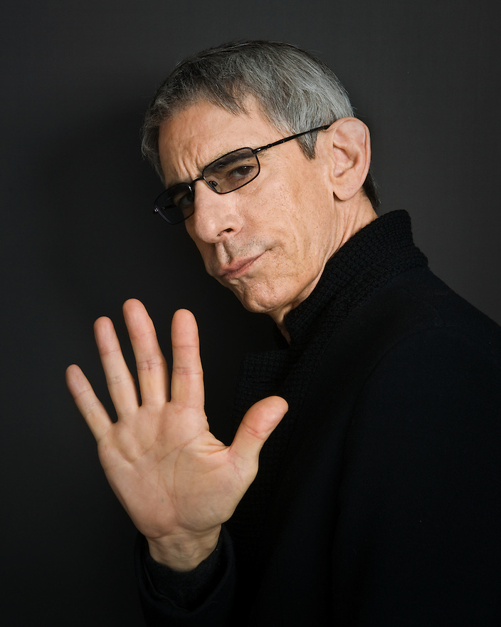 """Richard Belzer photographed for the Creative Coalition's """"Art & Soul"""" Book"""