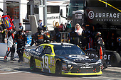 2017 NASCAR Xfinity Series<br /> DC Solar 200<br /> Phoenix International Raceway, Avondale, AZ USA<br /> Saturday 18 March 2017<br /> Matt Tifft, Surface Sunscreen / Tunity / Braingear Toyota Camry pit stop<br /> World Copyright: Lesley Ann Miller/LAT Images<br /> ref: Digital Image lam_170318PHX16447