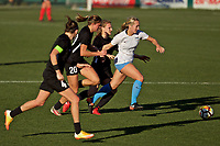 Portland, OR - Sunday March 11, 2018: Summer Green during a National Women's Soccer League (NWSL) pre season match between the Portland Thorns FC and the Chicago Red Stars at Merlo Field.