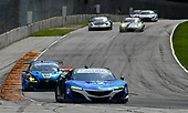 IMSA WeatherTech SportsCar Championship<br /> Continental Tire Road Race Showcase<br /> Road America, Elkhart Lake, WI USA<br /> Sunday 6 August 2017<br /> 93, Acura, Acura NSX, GTD, Andy Lally, Katherine Legge<br /> World Copyright: Richard Dole<br /> LAT Images<br /> ref: Digital Image RD_RA_2017_025