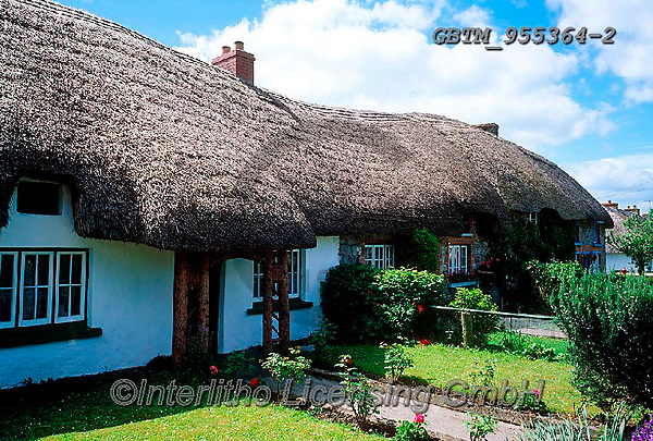 Tom Mackie, LANDSCAPES, LANDSCHAFTEN, PAISAJES, FOTO, photos,+6x7, Adare, cottage, cottages, County Limerick, Eire, EU, Europa, Europe, European, horizontal, horizontals, Ireland, Irish,+medium format, thatch, thatched roof, tourist attraction,6x7, Adare, cottage, cottages, County Limerick, Eire, EU, Europa, Eu+rope, European, horizontal, horizontals, Ireland, Irish, medium format, thatch, thatched roof, tourist attraction++,GBTM955364-2,#L#, EVERYDAY ,Ireland