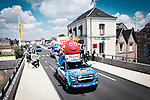 The publicity caravan before Stage 6 of the 2021 Tour de France, running 160.6km from Tours to Chateauroux, France. 1st July 2021.  <br /> Picture: A.S.O./Aurelien Vialatte | Cyclefile<br /> <br /> All photos usage must carry mandatory copyright credit (© Cyclefile | A.S.O./Aurelien Vialatte)