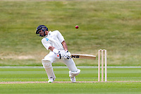 20th November 2020; John Davies Oval, Queenstown, Otago, South Island of New Zealand. NZ A's Rachin Ravindra lets a high ball go by his wicket