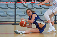 Nevena Jovanovic (8) of Serbia pictured during a basketball game between the national teams of Belgium , called the Belgian Cats , and Serbia on Friday 28 th of May 2021 in Kortrijk , Belgium . PHOTO SPORTPIX.BE | SPP | STIJN AUDOOREN