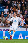 Lucas Vazquez of Real Madrid in action during the La Liga 2017-18 match between Real Madrid and Athletic Club Bilbao at Estadio Santiago Bernabeu on April 18 2018 in Madrid, Spain. Photo by Diego Souto / Power Sport Images