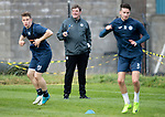 St Johnstone Training…22.09.17<br />Manager Tommy Wright pictured during training ahead of tomorrow's game against Hamilton<br />Picture by Graeme Hart.<br />Copyright Perthshire Picture Agency<br />Tel: 01738 623350  Mobile: 07990 594431