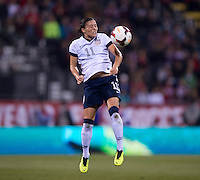 Ali Krieger. The USWNT tied New Zealand, 1-1, at an international friendly at Crew Stadium in Columbus, OH.