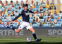 Connor Mahoney of Millwall takes a shot at the Stoke City goal during Millwall vs Stoke City, Sky Bet EFL Championship Football at The Den on 12th September 2020