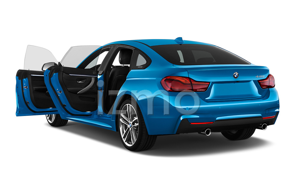 Car images close up view of a 2018 BMW 4 Series Gran Coupe 440i M Sport 5 Door Hatchback doors