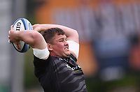 29th May 2021; Sixways Stadium, Worcester, Worcestershire, England; Premiership Rugby, Worcester Warriors versus Leicester Tigers; Charlie Clare of Leicester Tigers warms up