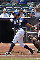 Durham Bulls outfielder Desmond Jennings #15 at bat during a game versus the Louisville Bats at Durham Bulls Athletic Park in Durham, North Carolina on May 18, 2011. Durham defeated Louisville by the score of 7-4.    Robert Gurganus/Four Seam Images