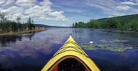 Sea Kayak on Canandaigua Lake. Naples New York United States Finger Lakes.