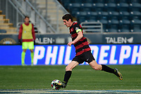 Chester, PA - Sunday December 10, 2017: Drew Skundrich. Stanford University defeated Indiana University 1-0 in double overtime during the NCAA 2017 Men's College Cup championship match at Talen Energy Stadium.