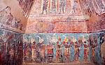 Frescos of Bonampak, Mexico, Central America