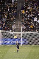 LA Galaxy GK Joe Cannon during a MLS match. FC Dallas beat LA Galaxy 2-1 at the Home Depot Center in Carson, California, Thursday April 12, 2007.