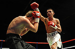 Lee Lewis (Black & Gold shorts) V Mark Lewis (White & Red shorts). Joe Calzaghe Promotions Boxing Evening .Date: Friday 20/11/2009,  .© Ian Cook IJC Photography, 07599826381, iancook@ijcphotography.co.uk,  www.ijcphotography.co.uk, .
