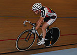 Russ White racing in the Points race. Welsh Cycling Championships 2009, Newport Velodrome © Ian Cook IJC Photography, 07599826381,  iancook@ijcphotography.co.uk, www.ijcphotography.co.uk