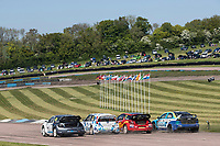 BRX supercars from the start grid in qualifying during the 5 Nations BRX Championship at Lydden Hill Race Circuit on 31st May 2021