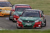 Round 2 of the 2007 British Touring Car Championship. #7 Tom Chilton (GBR). VX Racing. Vauxhall Vectra.