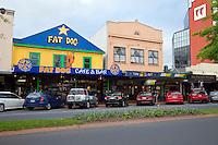 Rotorua Street Scene, north island, New Zealand.