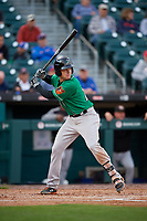 Norfolk Tides Ryan Mountcastle (20) bats during an International League game against the Buffalo Bisons on June 21, 2019 at Sahlen Field in Buffalo, New York.  Buffalo defeated Norfolk 1-0, the second game of a doubleheader.  (Mike Janes/Four Seam Images)