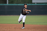 AZL White Sox second baseman Nick Madrigal (7) during an Arizona League game against the AZL Athletics at Camelback Ranch on July 15, 2018 in Glendale, Arizona. The AZL White Sox defeated the AZL Athletics 2-1. (Zachary Lucy/Four Seam Images)