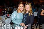 Myra Greer and Amy Moynihan enjoying the Bon Jovee fundraiser in the Brandon Hotel on Saturday