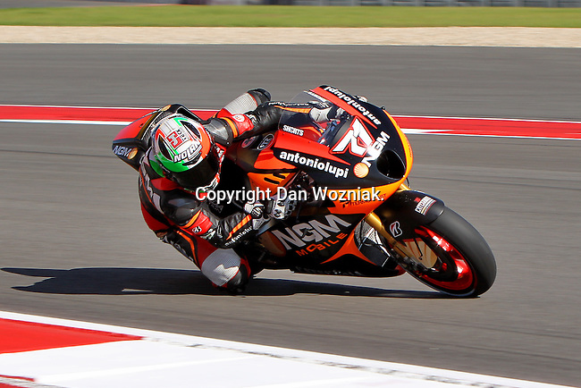 Claudio Corti (71) in action during the Red Bull MotoGP of the Americas practice session at Circuit of the Americas racetrack in Austin,Texas. ..