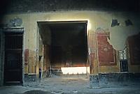 Italy: Pompeii--House of Giulia Felice. Room off atrium to left.