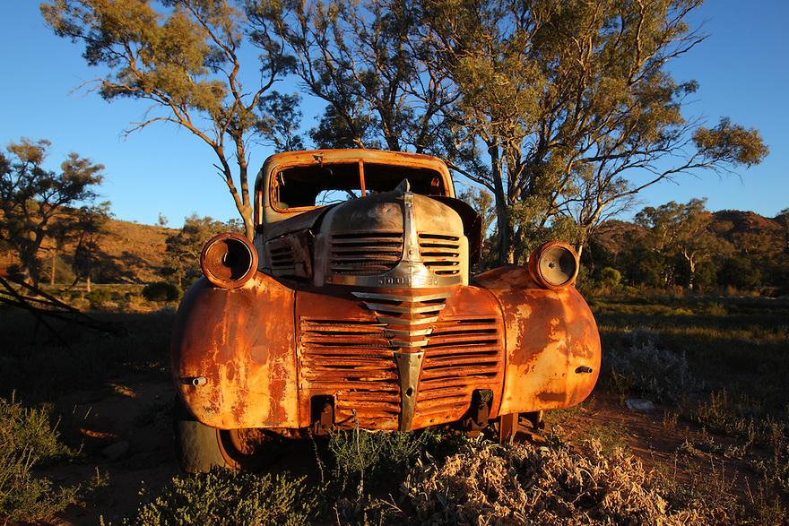 Old car in outback Australia.