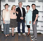 Jill Paice, Rebecca Luker, Michael Siberry, Linda Balgord, Max Von Essen.attending the Meet & Greet for The Roundabout Theatre Company's off Broadway Production of 'Death Takes A Holiday' in New York City.