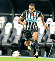 1st November 2020; St James Park, Newcastle, Tyne and Wear, England; English Premier League Football, Newcastle United versus Everton; goalscorer Callum Wilson of Newcastle United on the ball