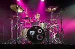 Harry Judd of Mc Fly playing at the Afan Lido in Port Talbot tonight (Thurs)..