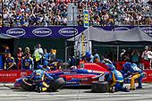 Verizon IndyCar Series<br /> Chevrolet Detroit Grand Prix Race 2<br /> Raceway at Belle Isle Park, Detroit, MI USA<br /> Sunday 4 June 2017<br /> Alexander Rossi, Andretti Herta Autosport with Curb-Agajanian Honda<br /> World Copyright: Jake Galstad <br /> LAT Images