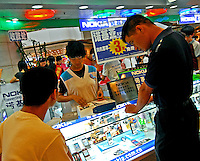 A Nokia shop in the Teem Plaza shopping centre in the Tien He district of Guangzhou, China..