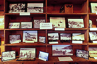 A display of historical photographs within the Greenwell Store, the museum of the Kona Historical Society, Big Island