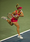 Angelique Kerber (GER) wins in the semifinals at the Western & Southern Open in Mason, OH on August 18, 2012.